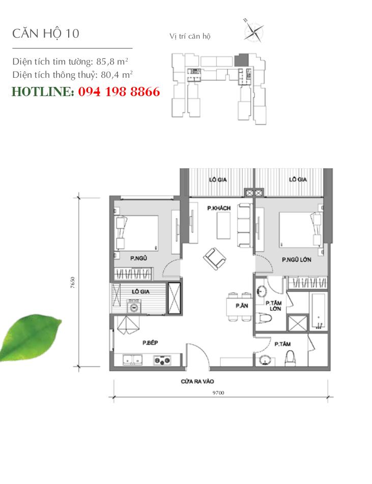 mat-bang-can-ho-10-toa-a2-vinhomes-gardenia