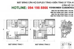 mat-bang-can-ho-A112-duplex-vinhomes-gardenia