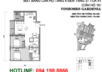 mat-bang-can-ho-A116-vinhomes-gardenia