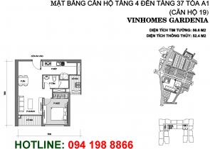 mat-bang-can-ho-A119-vinhomes-gardenia