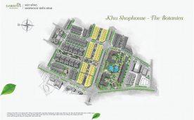 Mặt bằng khu Shophouse – The Botanica