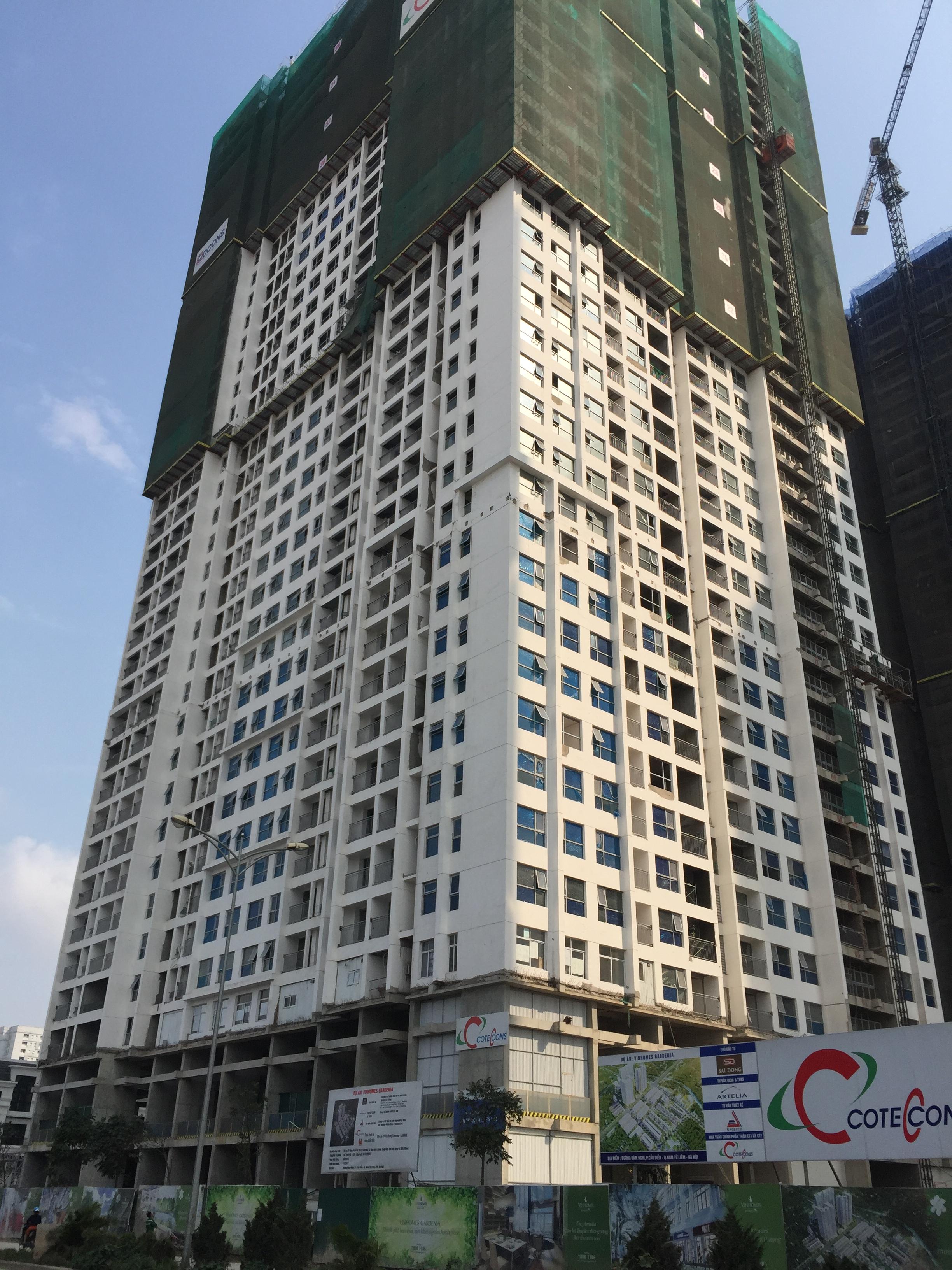 Tòa căn hộ A1 của dự án