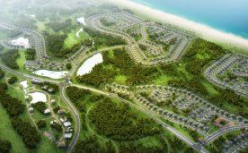 Mặt bằng chi tiết khu SHophouse và Biệt thự FLC Lux 1 tại FLC Quảng Bình
